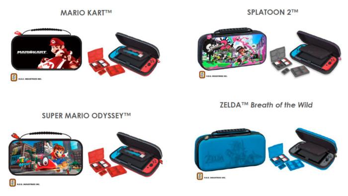 Bigben sort une gamme d'accessoires pour la Nintendo Switch !