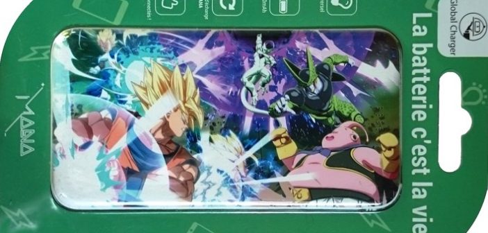 Batterie Mana Dragon Ball FighterZ un kamehameha d'énergie pour ton mobile !