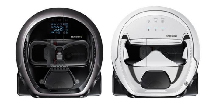 Des aspirateurs Star Wars signée Samsung, avec lesquels aspirer la poussière tu pourras