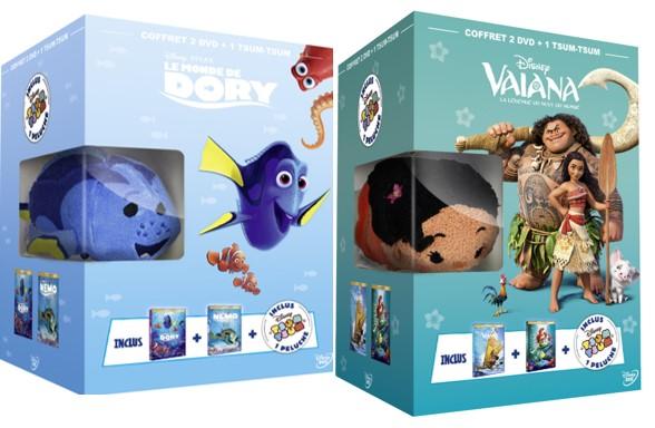 Disney propose des coffrets DVD & Blu-ray de Noël pour tous les goûts !