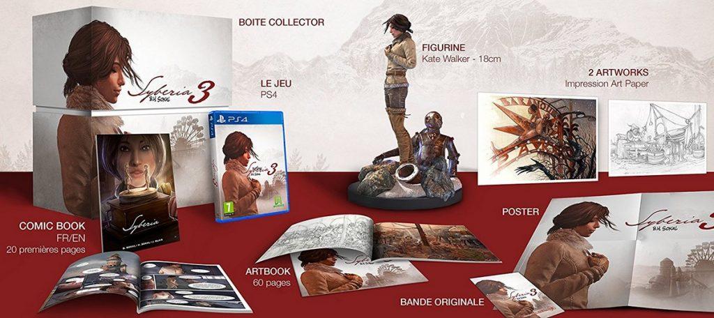 Syberia 3 on vous dit tout sur l'édition collector !