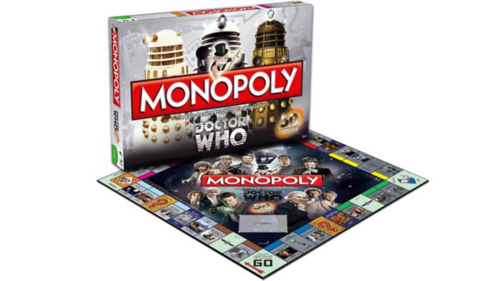 Un Monopoly Doctor Who, pour s'amuser entre potes à bord du TARDIS !