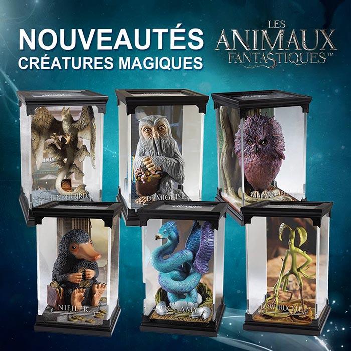 The Noble Collection dévoile ses figurines des Animaux Fantastiques !