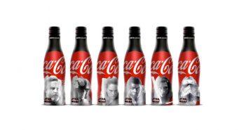 Des bouteilles Coca-Cola collector Star Wars, parce que Leïa, elle en a marre de boire des panachés aldéraaniens