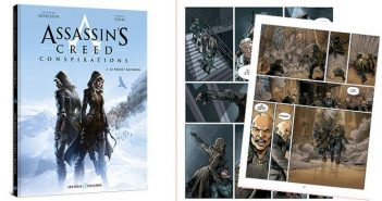 Assassin's Creed Conspirations Le tome 2 « projet Rainbow » disponible !
