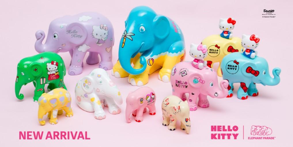 Hello Kitty des jouets pour soutenir la cause des éléphants