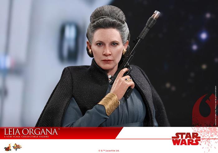 Leia Organa : la figurine Hot Toy des Derniers Jedi !
