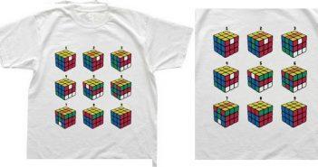 Rubik's Cube, un t-shirt et enfin la solution aux vues de tous !