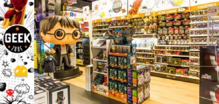 Toys'R'Us lance sa Geek Zone !