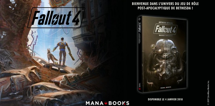 Fallout 4 : Imaginer l'Apocalypse, l'artbook indispensable !
