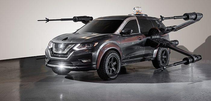 Star Wars et Nissan s'associent pour créer des voitures galactiques !