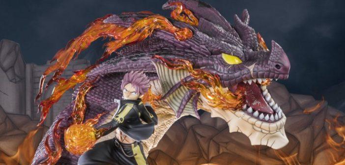 Tsume dévoile Natsu Dragon Slayer, tout feu, tout flamme !