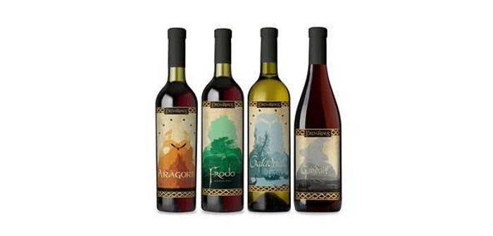 Une cuvée Le Seigneur des Anneaux, parce qu'il n'y a pas que les elfes qui font du bon vin !