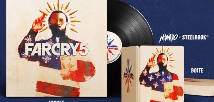 Vinyle, coffret... une édition limitée qui envoie du lourds pour Far Cry 5 FC5