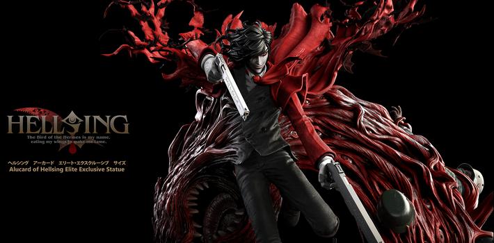 Alucard of Hellsing Ultimate : la toute première figurine officielle d'Alucard