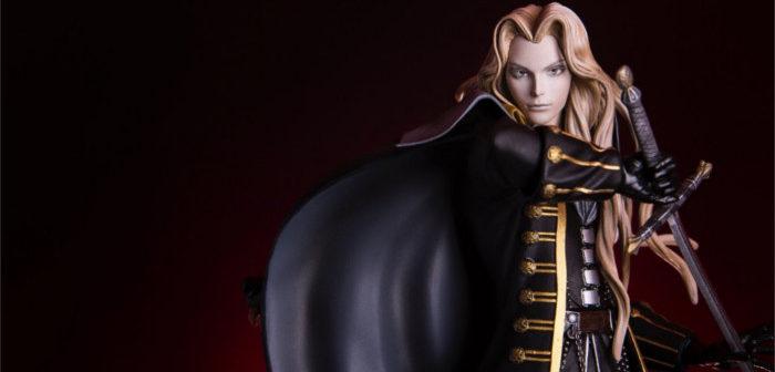 Castlevania: Mondo dévoile une figurine d'Alucard prêt au combat!
