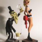 Figurine la plus joyeuse de Lucky Luke, voici le Croque-Mort !