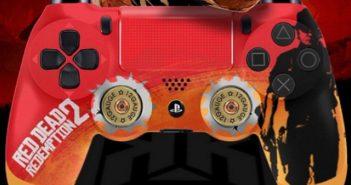 Red Dead Redemption 2 deux manettes aux couleurs du jeu prévues !