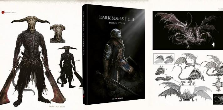 Artbook Dark Souls I & II, parviendras tu à le dénicher en librairie ?