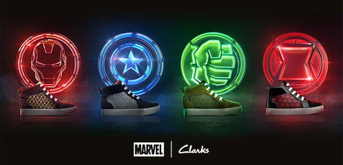 Avengers Infinity War: Clarks lance sa gamme de chaussures aux couleurs des super-héros