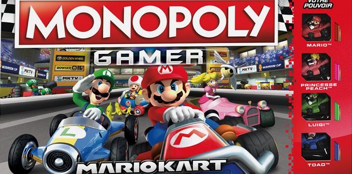 Hasbro appuie sur le champi avec le Monopoly Gamer: Mario Kart !