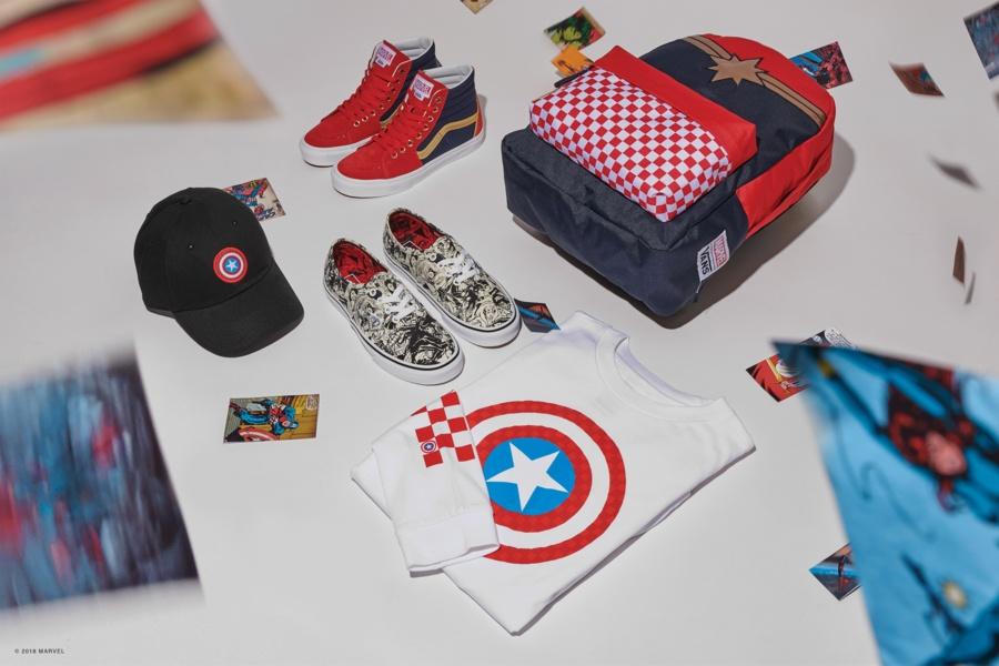 Vans et Marvel s'unissent pour une collection super héroïque