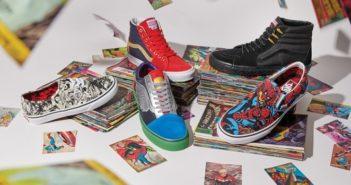 Vans x Marvel s'unissent pour une collection super héroïque !