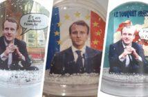 Le mug Macron ? L'Elysée se met aux produits dérivés !