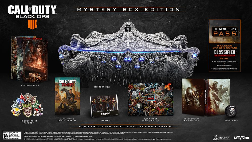 Call of Duty : Black Ops IIII Call of Duty Black Ops 4 Mystery Box Edition