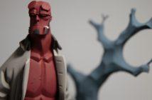 Hellboy la figurine tirée du comics de Mike Mignola