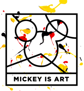Mickey is Art la vision artistique de la souris de Disney