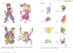 Découvre Art of Mana, l'artbook des 25 ans de la saga
