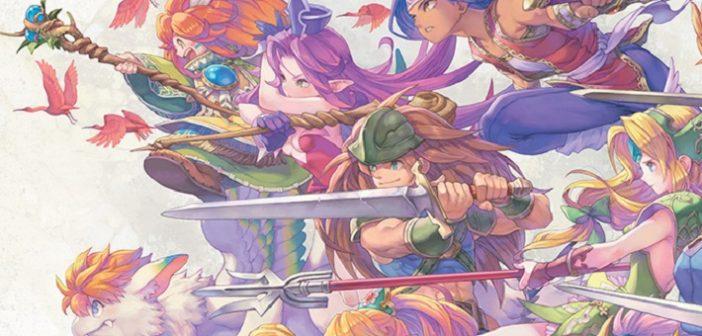 Découvre Art of Mana, l'artbook des 25 ans de la saga !