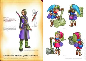 Dragon Quest Akira Toriyama sur l'artbook 30e anniversaire_illustratio_DQI-pagespresse