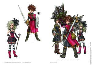 Dragon Quest Akira Toriyama sur l'artbook 30e anniversaire_illustratio_DQI-pagespresse2