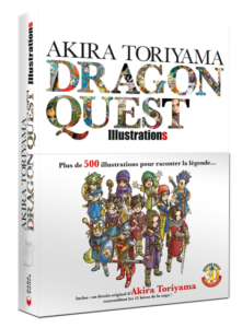 Dragon Quest Akira Toriyama sur l'artbook 30e anniversaire_illustratio_couverture