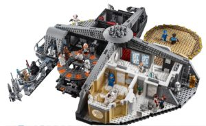 Lego Star Wars UCS Collector, une cité des nuages à 350€_Lego Star Wars UCS Collector 75222, Betrayal at Cloud City, La cité des Nuages, Master Builder_