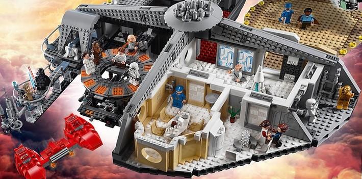Lego Star Wars UCS Collector, une cité des nuages à 350€ !