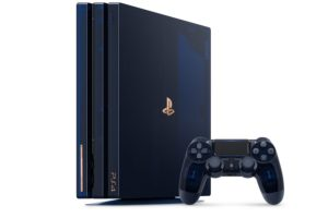 PLAYSTATION 4 PRO 500 MILLION LIMITED EDITION_project Skeleton PS4_2