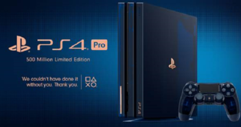Sony sort une PlayStation 4 Pro 500 Million Limited Edition dédiée aux fans !