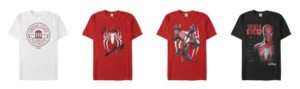 Spider-Man le point sur les goodies à venir_tshirt