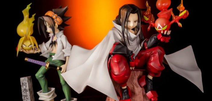 Pour les 20 ans de Shaman King, découvre les figurines Yoh Asakura et Hao !