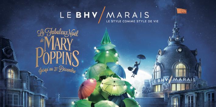 T-shirt, poupées, le BHV fait le plein de cadeaux Mary Poppins !