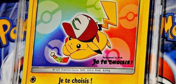 Des cartes Pokémon mises aux enchères à Drouot_PCA - Dracaufeu
