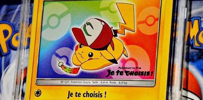 Des cartes Pokémon mises aux enchères rue Drouot !