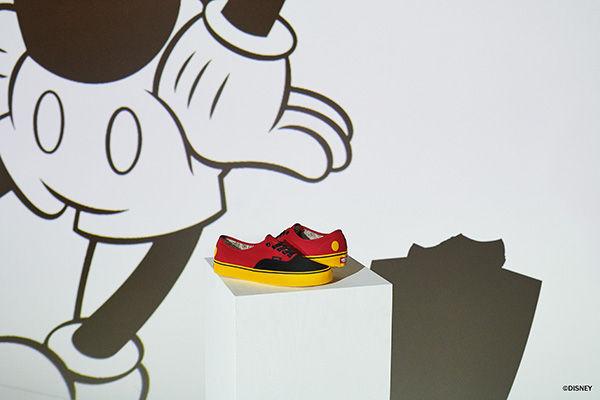 Disney et Vans célèbrent ensemble l'anniversaire de Mickey Mouse