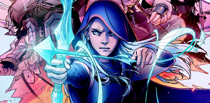 League of Legends aura ses comics !