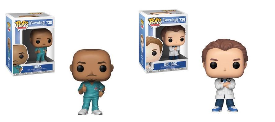 Les Funko Pop Scrubs arrivent enfin !