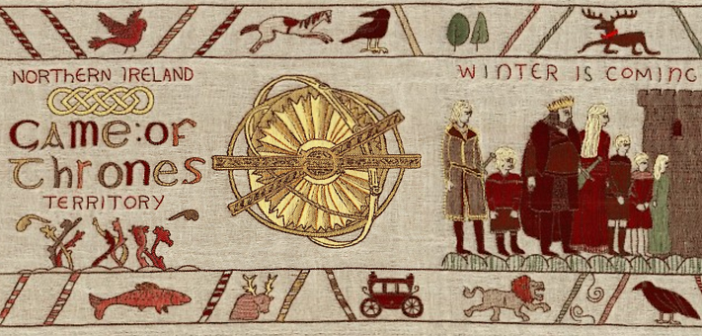 La tapisserie Game of Thrones rejoint Bayeux !