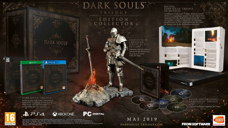 Dark Souls Trilogy le coffret ultime à 500€